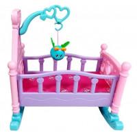 Inlea4Fun ROCKING BED Játékbölcső babáknak