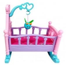 Inlea4Fun ROCKING BED Játékbölcső babáknak Előnézet