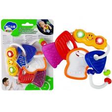 Tanuló kulcsok babajáték és rágóka HOLA Előnézet