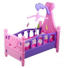 Inlea4Fun SWEET BED Játékbölcső babáknak Előnézet