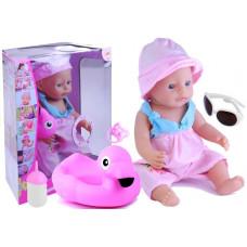 Inlea4Fun BABY MAY Interaktív strandoló baba  Előnézet