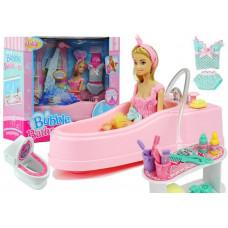Inlea4Fun Fürdőszoba szett játékbabáknak Előnézet