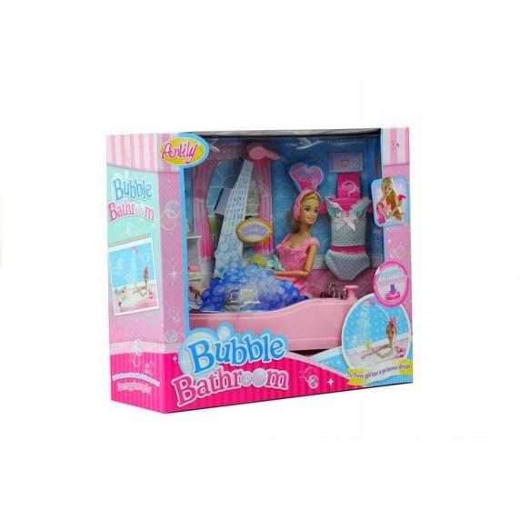 Fürdőszoba szett játékbabáknak Inlea4Fun