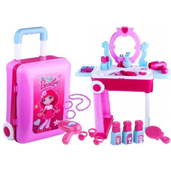 Szépítkező asztal bőröndben Inlea4Fun BEAUTY