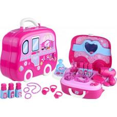 Inlea4Fun FASHION YOU Szépítkező szett bőröndben Előnézet