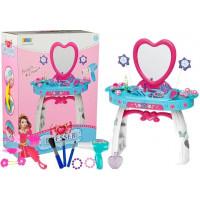 Szépítkező asztal Inlea4Fun BEAUTY DRESSER HEART