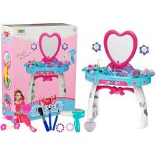 Inlea4Fun BEAUTY DRESSER HEART szépítkező asztal Előnézet