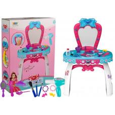 Inlea4Fun BEAUTY DRESSER BOW szépítkező asztal Előnézet