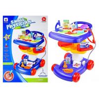Inlea4Fun Doctor 27 Orvosi kocsi gyerekeknek