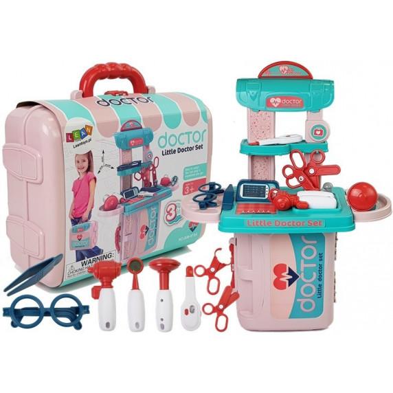 Orvosi játékszett bőröndben Inlea4Fun LITTLE DOCTOR