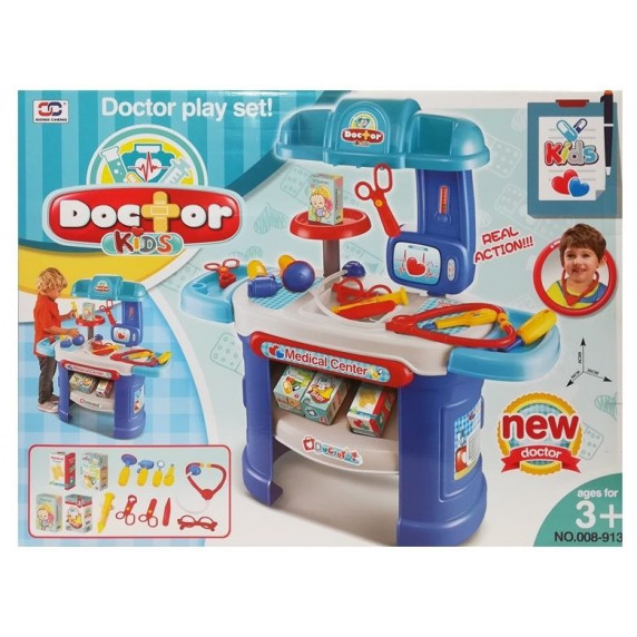 Inlea4Fun DOCTOR KIDS Orvosi játékszett