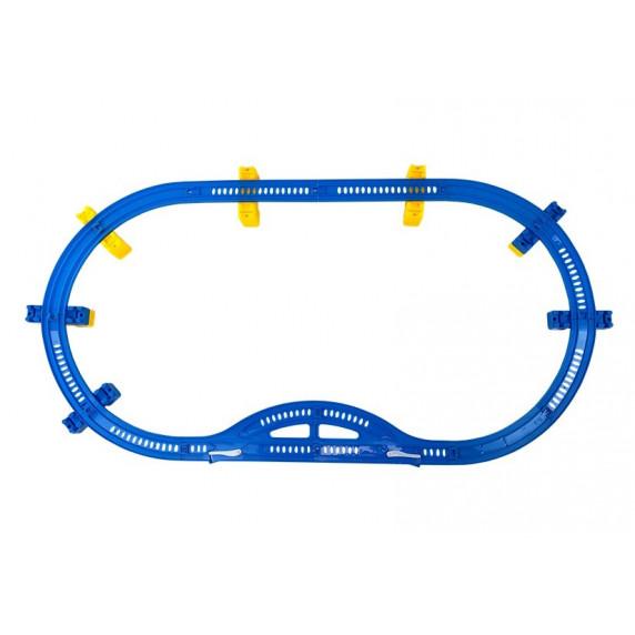 Inlea4Fun TRAIN HIGH SPEED Játék vasút kiegészítőkkel