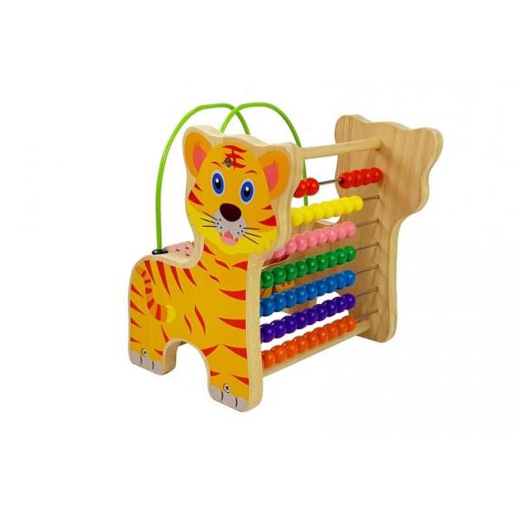 Fa készségfejlesztő Inlea4Fun - tigris