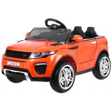 RAPID RACER Elektromos kisautó - Narancssárga Előnézet