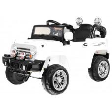 JEEP JJ245 Elektromos kisautó - Fehér Előnézet