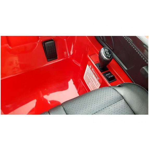 Elektromos kisautó AUDI R8 Spyder - Piros