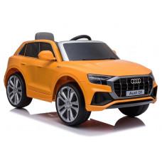 Elektromos kisautó lakkozott AUDI Q8 - narancssárga Előnézet