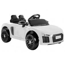 Elektromos kisautó AUDI R8 Spyder - Fehér Előnézet