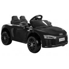 Elektromos kisautó AUDI R8 Spyder - Fekete Előnézet