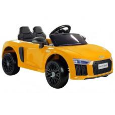 Elektromos kisautó AUDI R8 Spyder - Sárga Előnézet
