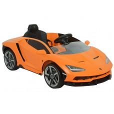 Elektromos kisautó Inlea4Fun LAMBORGHINI Centenario - narancssárga Előnézet