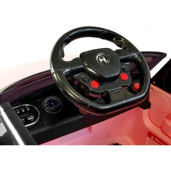 Elektromos kisautó Inlea4Fun HL1638 - Rózsaszín