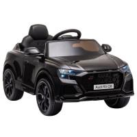 Elektromos kisautó AUDI RS Q8 - fekete