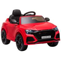 Elektromos kisautó AUDI RS Q8 - piros