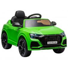 Elektromos kisautó AUDI RS Q8 - zöld Előnézet