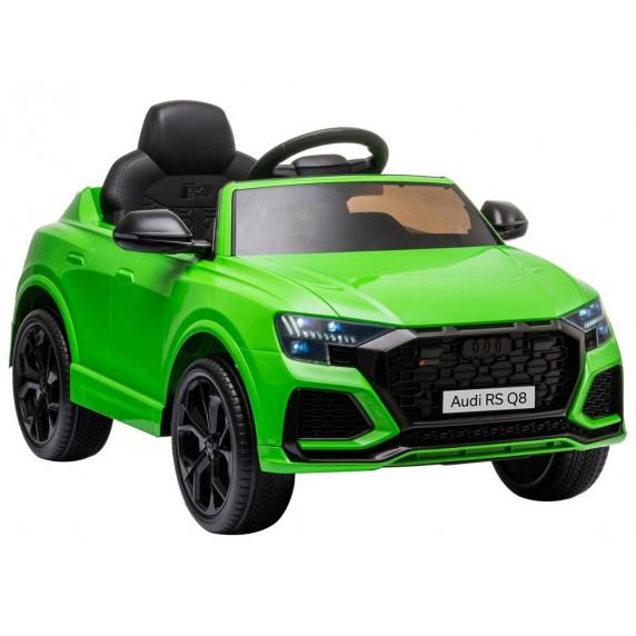 Elektromos kisautó AUDI RS Q8 - zöld