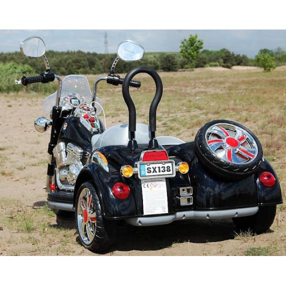 Inlea4Fun SX138 Elektromos kismotor - fekete