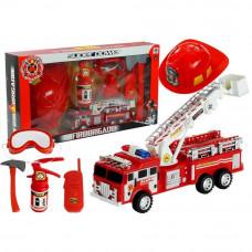 Inlea4Fun Tűzoltóautó szett Előnézet