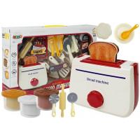Játék kenyérpirító kiegészítőkkel Inlea4Fun