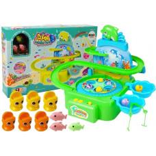 Inlea4Fun DOLPHIN PARK Horgász játék - zöld Előnézet
