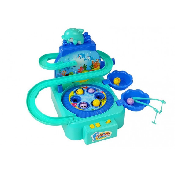 Inlea4Fun DOLPHIN PARK Horgász játék - kék