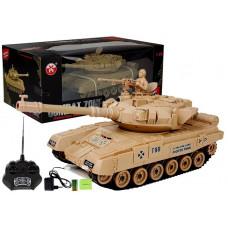 Inlea4Fun RC COMBAT ZONE T távirányítós tank- krémszínű Előnézet