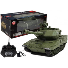 Távirányítós tank Inlea4Fun RC COMBAT ZONE T - zöld Előnézet
