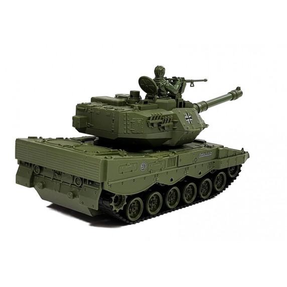 Inlea4Fun RC COMBAT ZONE T távirányítós tank -zöld