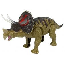 Inlea4Fun TRICERATOPS Lépegető, sétáló dinoszaurusz figura fény- és hangeffektekkel  Előnézet