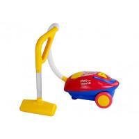 Játék porszívó Inlea4Fun PLAY AT HOME - piros/sárga