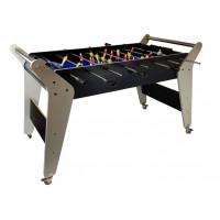 Asztali foci csocsó asztal Inlea4fun 123x60x75 cm - szürke