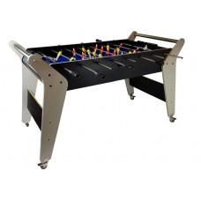 Asztali foci csocsó asztal Inlea4fun 123x60x75 cm - szürke Előnézet