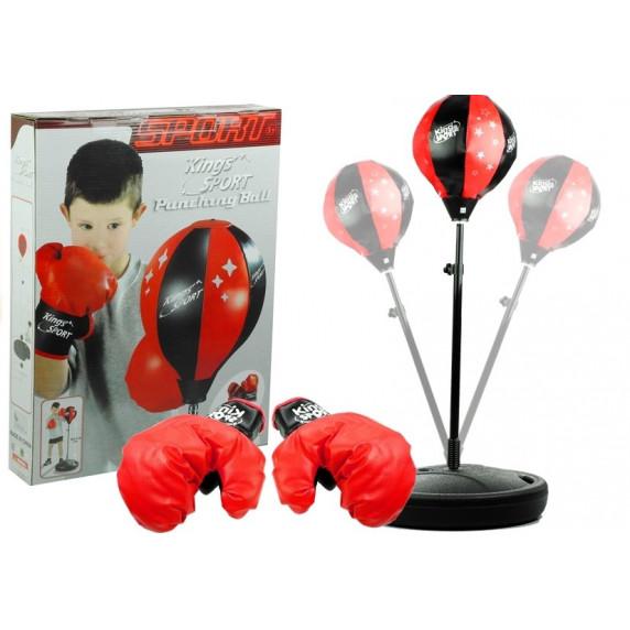Bokszlabda készlet gyerekeknek Inlea4Fun PUNCHING BALL
