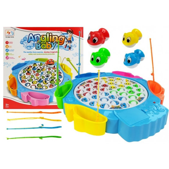 Inlea4Fun ANGLING BABY Horgász játék - Kék