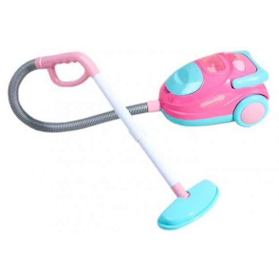 Játék porszívó Inlea4Fun VACUUM CLEANER - rózsaszín/türkiz