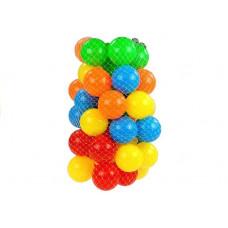 Színes labdák medencébe 50 darabos Inlea4Fun Előnézet
