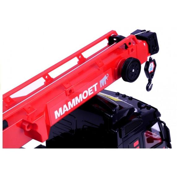 Inlea4Fun MAMMOET Darus autó fekete/piros