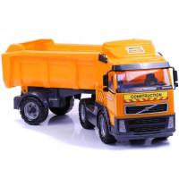 POLESIE Volvo Teherautó 8749 - narancssárga