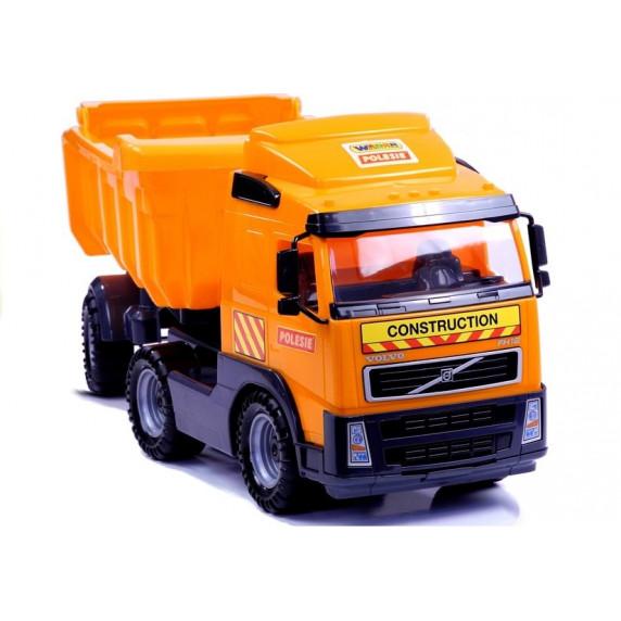 Volvo Teherautó POLESIE 8749 - narancssárga