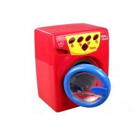 Inlea4Fun PLAY AT HOME Játék mosógép - piros